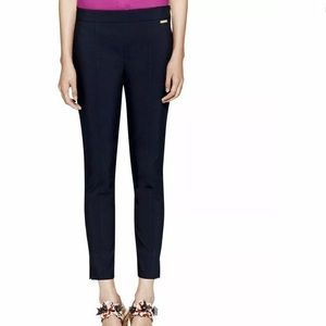 NWT Tory Burch Callie Skinny Ankle Pants in Navy